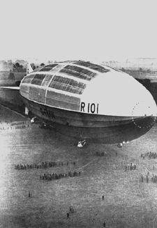 william king and the r101 disaster