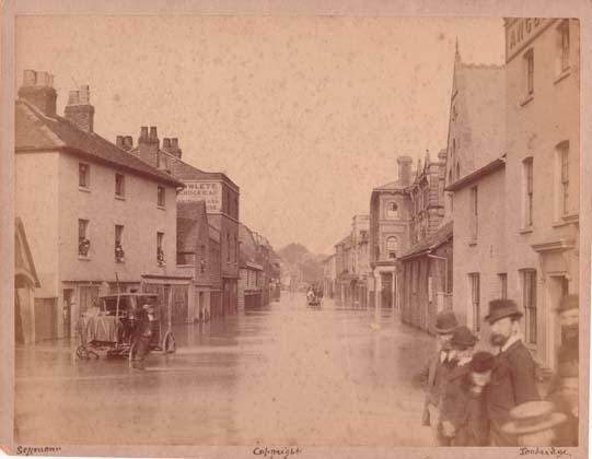 Old Tonbridge in pictures: Floods